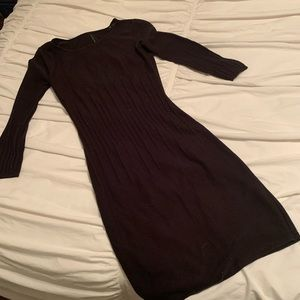 Marc New York | Andrew Marc knit black dress